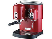 KitchenAIDS ARTISAN Coffee machine (5KES100) in very good condition only £140