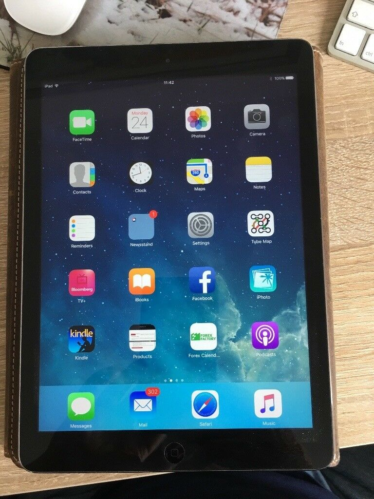iPad Air 9.7 inch display, as new conditionin Newmarket, SuffolkGumtree - iPad Air, Always ket in the case as new condition, complete with full leather case, keyboard, grab yourself a real bargain @ £225, only selling as I am getting an iPad Pro via work.. Year Late 2014 Capacity 32, GB Model number (on the back cover)...