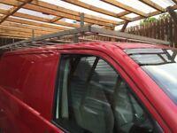 Vw t5 transporter roof rack