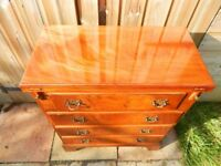 Mahogany Bachelors Chest