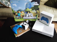 XBOX ONE - minecraft version ( 4k, 500Gb Hdd, double controller)