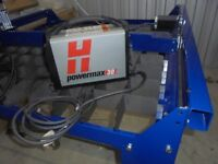 cnc plasma cutter hypertherm machine 4ft x 4ft