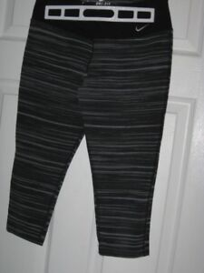Womens black tights and athletic pants