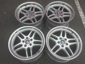 """set of Genuine Forged BMW M-Parrallel 18"""" rims good used cond"""
