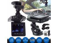 "2.5"" HD Car Vehicle Dash Dashboard Camera IR DVR CCTV Night Vision Recorder Cam"