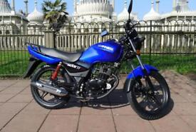 SINNIS MAX II 125cc MOTORCYCLE BRAND NEW - LEARNER LEGAL