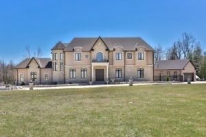 Custom Estate Home With 2 Acres in Caledon!