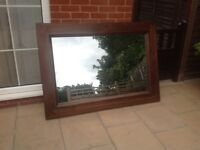 Large solid mirror £70 ONO