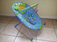Bright Stars - Bouncing Friends - cradling bouncer, with 7 melodies and soothing vibrating motion