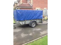 Ifor Williams GD84 Single wheel caged Trailer