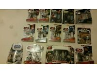 Star Wars Action Figures (happy to sell separately)