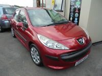 PEUGEOT 207 S 1560cc HDI 90 TURBO DIESEL 5 DOOR HATCH 2007-07, LOOK £30 A YEAR TAX,