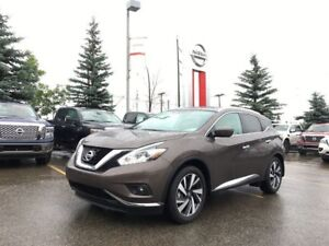 2017 Nissan Murano Platinum FULLY LOADED LOW KM'S