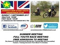 Norwich New Stars Youth Grasstrack Racing