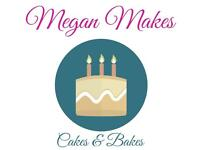 Cakes and Baked Goods! Birthdays, Christenings, Weddings, Cupcakes, Favours