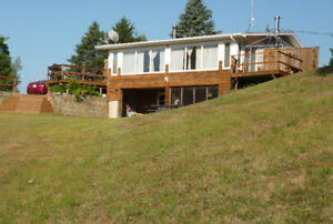 Waterfront Home House Property for sale Shediac River NB