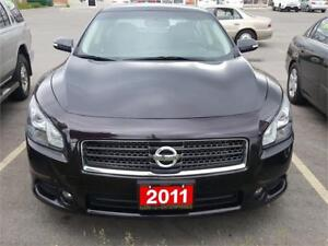 2011 NISSAN MAXIMA SV LUXURY TECH..SERVICED ONLY AT NISSAN