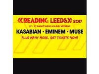 Two Leeds Festival Tickets