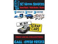 🚗🚙 CASH FOR CARS & VANS SPARES OR REPAIR, NON RUNNERS, CRASH DAMA