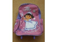 Dora the Explorer wheeled bag/trolley/holiday bag