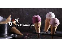 D.I.Y Ice Cream Bar | Only £69 for 24hr hire