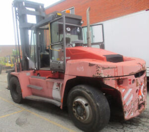 2005 KALMAR FORKLIFT 30000LB CAPACITY WITH SIDE SHIFT AND FP.