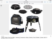 Cadac Safari Chef for sale, with gas pipe and regulator.