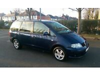 *FAMILY MPV* 2003 Reg Seat Alhambra 1.9 Tdi PD130 6 Speed Manual 7 Seater galaxy,touran,sharan,cheap