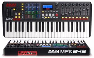 Akai Professional MPK249 49-Key USB MIDI Keyboard & Drum Pad Con
