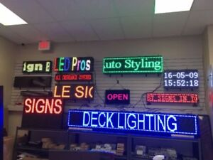 Business Store Signs / LED / Channel Letter / Lexan In Any Size!
