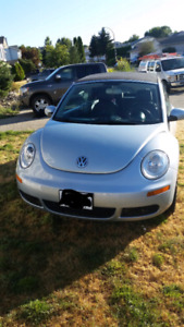 Reduced 2009 vw beetle convertable