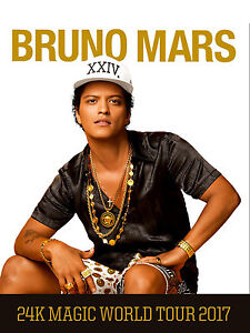 WANTED: 4 BRUNO MARS TICKETS for Sat Aug 26th @ Air Canada