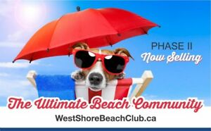 west shore beach club detach home at ORILLIA