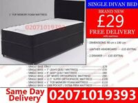 Brand New Single Divan Bed Available with Mattress Boise