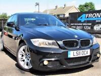 2011 BMW 3 SERIES 318D M SPORT 6 SPEED MANUAL 4DR SALOON DIESEL SALOON DIESEL