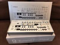 Roland Boutique TB-03 (official TB-303 clone). Mint condition + boxed