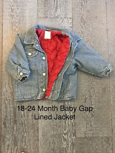 18-24 Month Lined Baby Gap Jacket