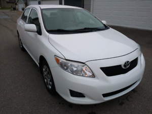 2010 Toyota Corolla with low mileage for sales