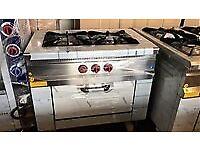 Two Burner cooker with oven EN233