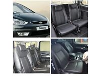 MINICAB LEATHER CAR SEATCOVERS FORD GALAXY 1998-2017