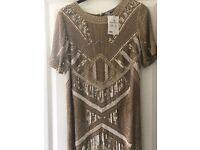 New Beaded 1920s ASOS Dress
