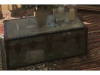 Vintage Trunk - Great Coffee Table