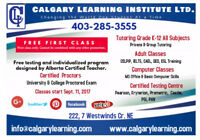 Tutoring, for Children & Adults