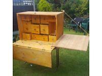 Handmade Western Chuck Wagon Box