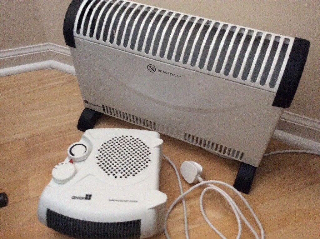 Portable Electric Heater & Fan Heater