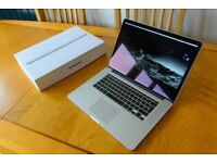 MacBook Pro 15 Retina 2.8 Ghz 16 RAM 1 TB