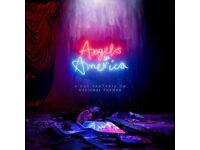 Angels In America x 2 Stalls Tickets NT Parts 1&2 SATURDAY 19th AUGUST