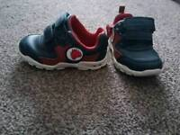 Boys first toddler shoes clarks size 4 1/2F