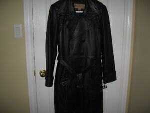 Columbia Leather Coat