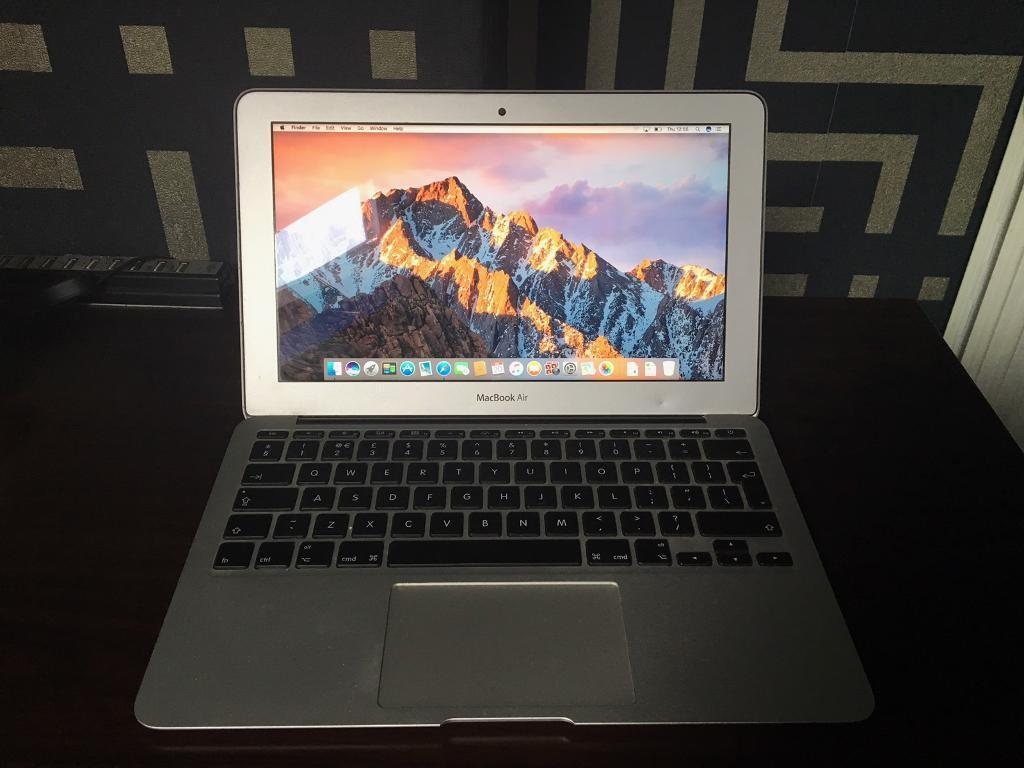 "Apple MacBook Air 11"" 2012 Intel core i5/4gb ram/64gb ssdin Stapleford, NottinghamshireGumtree - Apple MacBook Air 11.6"" mid 2012 with original charger fully working Great MacBook for everyday use uni work watching movies etc Selling as I have a MacBook Pro now Specs Intel core i5 1.7ghz64gb ssd 4gb ram OS X Sierra (latest operating..."